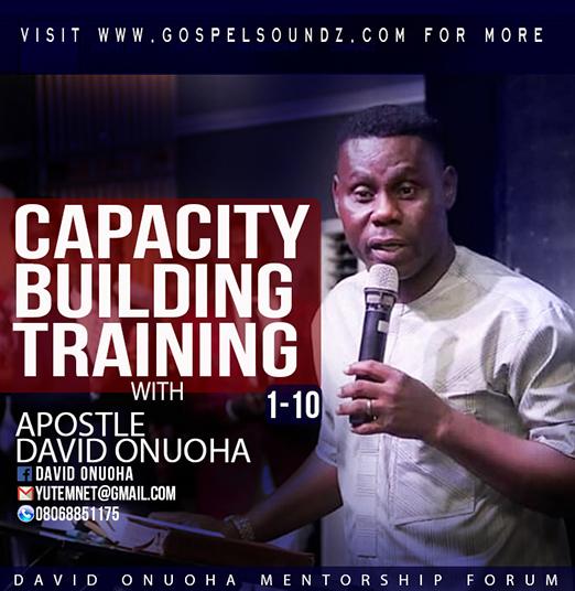 David Onuoha – Capacity Building Training(1-10) [Article]