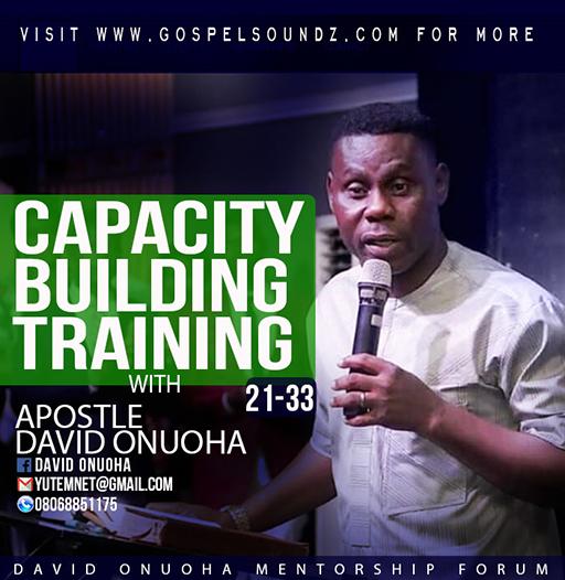 David Onuoha – Capacity Building Training(21-33) [Article]