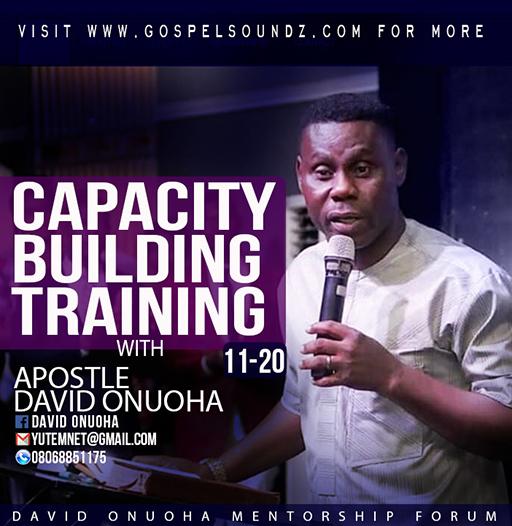 David Onuoha – Capacity Building Training (11-20) [Article]