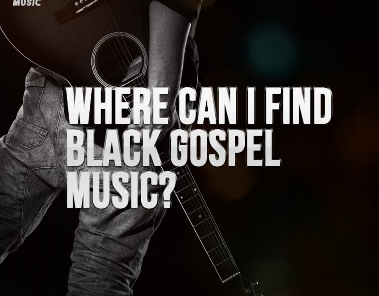 Where Can I Find Black Gospel Music?